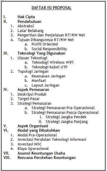 Cara Membuat Proposal Usaha Disertai Contoh Proposal Usaha  PURNA PRAKARYA MUDA INDONESIA